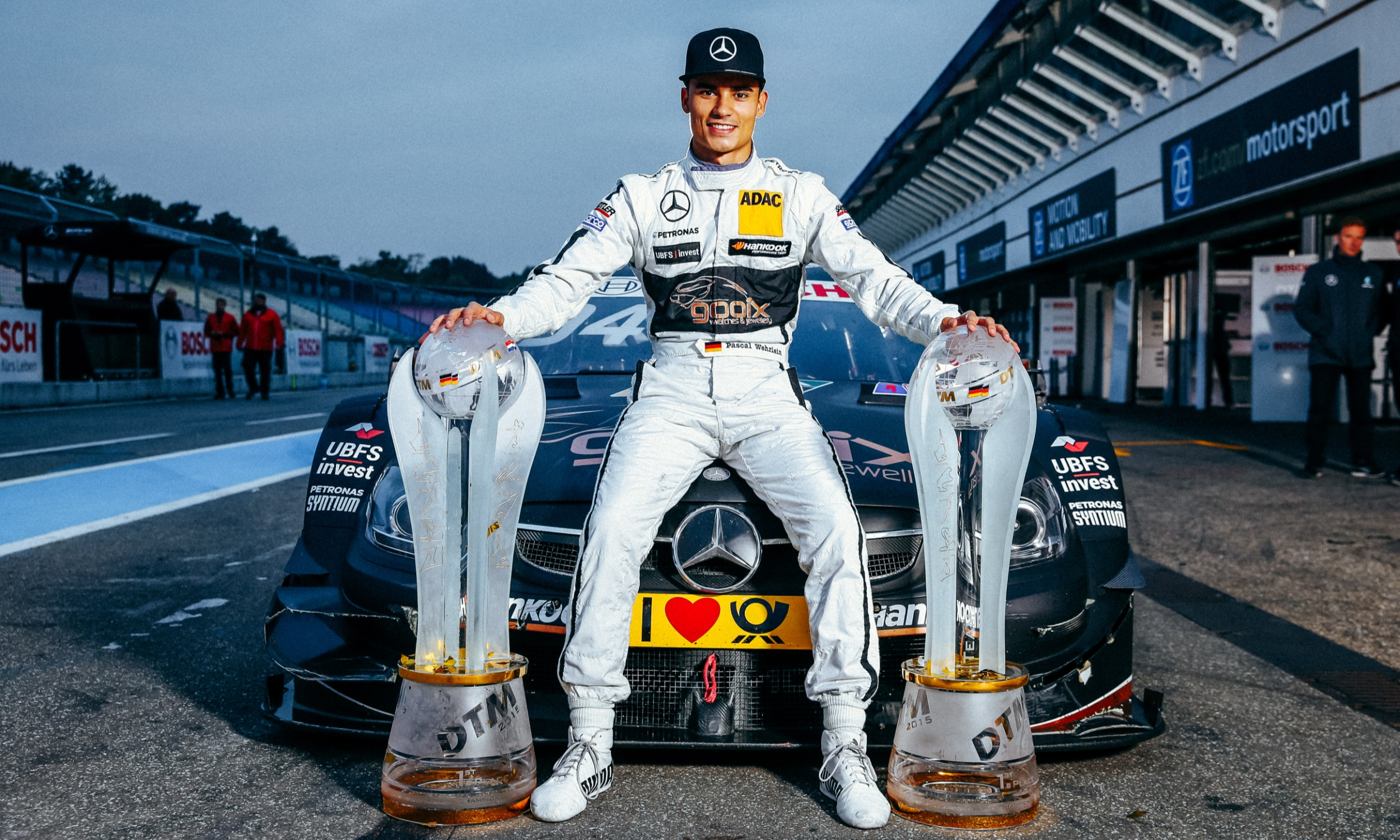 Youngest DTM Champion ever – 2015